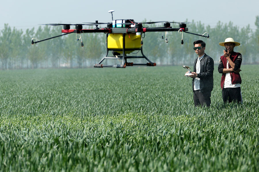 china, coronavirus, agriculture, agriculture drone, ag tech, drones, drone, uas, uav, suas, drone technology, commercial drone