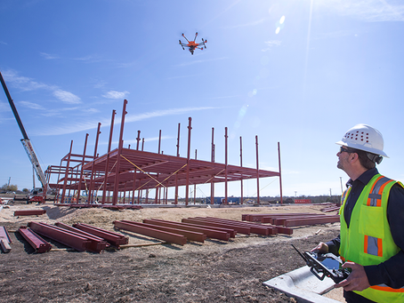 Drone Survey reducing construction costs