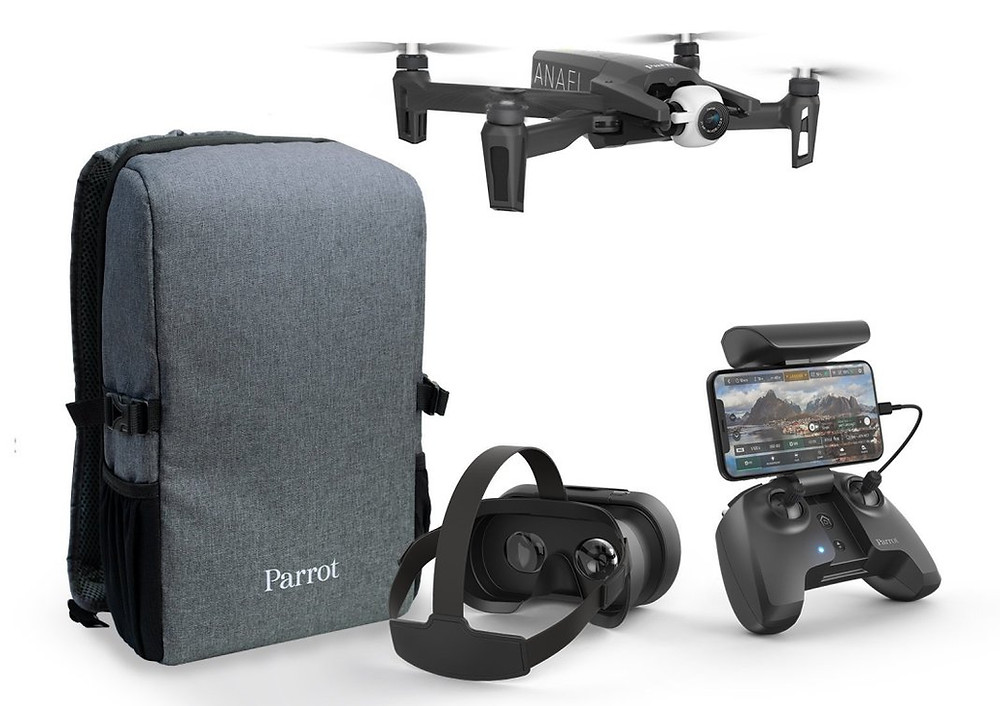 parrot, parrot drones, parrot anafi, anafi drone, anafi, drones, drone, uas, uav, suas, drone tech, drone technology, fpv, first person view