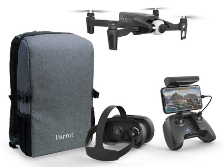 ANAFI FPV puts you in the cockpit of Parrot's revolutionary drone