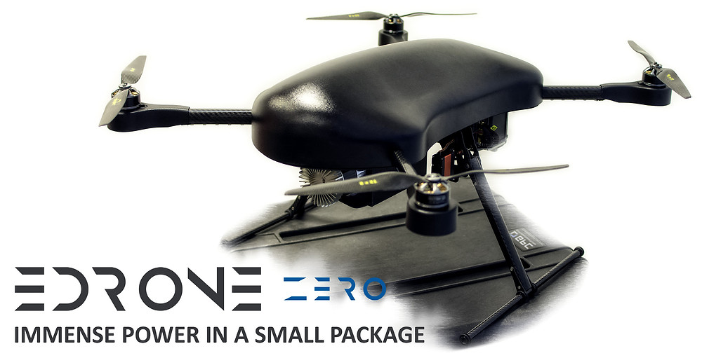 edrone zero, edrone, drones, drone, skycorp, hydrogen drone, hydrogen powered drone, rotordrone magazine