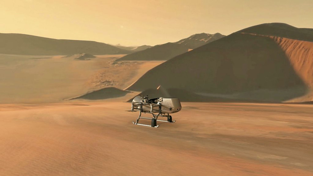 mars, nasa, titan, nasa drone, space drone, drones, drone, uas, uav, suas, commercial drone, drone technology