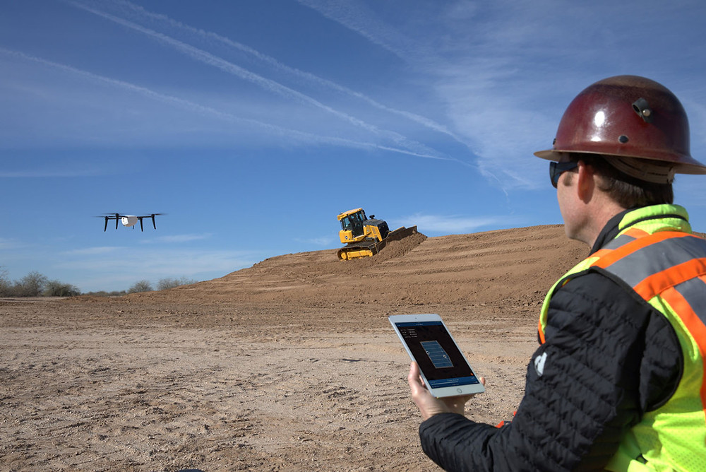 salesforce, kespry, salesforce ventures, commercial drones, aerial photography, drone inspection, drone technology, drones, drone, uas, uav, suas, unmanned aerial