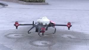 Drones Disinfect Public Spaces for COVID-19