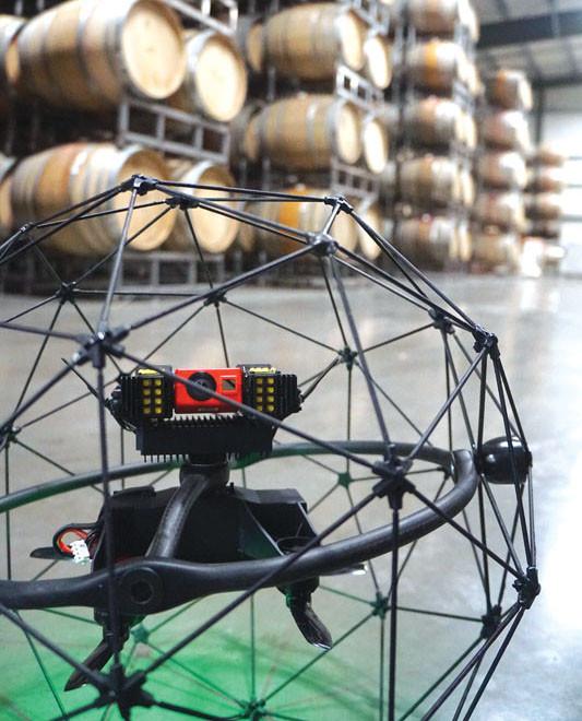 drones, drone, uas, uav, suas, drone inspection, flyability, flyability elios, elios, rotordrone magazine
