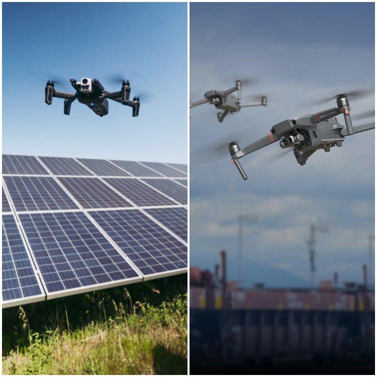 dji, dji mavic, dji mavic 2, dji mavic 2 enterprise dual, anafi, anafi thermal, drones, drone, uas, uav, suas, commercial drone, drone technology, drone life