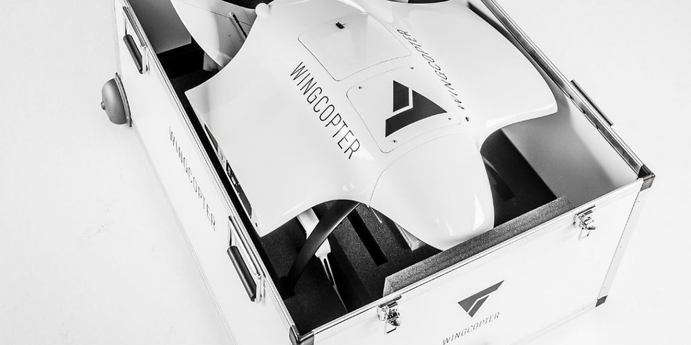 wingcopter, german drone startup, drones, drone, uas, uav, suas