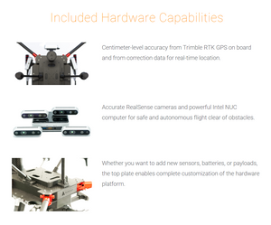 inspired flight, if750a, commercial drone, drone, drones, uas, uav, interdrone