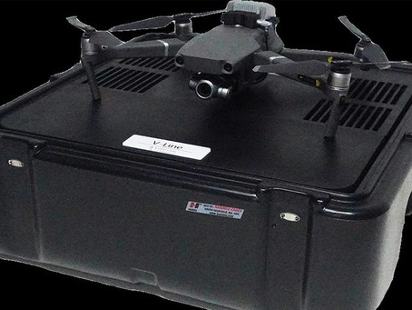 AirWorks 2019: Volarious introduces V-Line tether box for Mavic 2 series