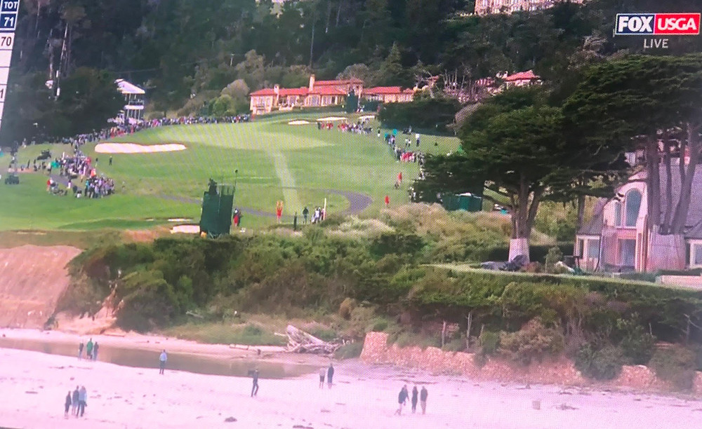 golf, us open, pebble beach, drones, drone, uas, uav, suas, commercial drone, dji, dji inspire