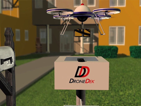 DRONEDEK eyes smart drone delivery growth as it secures second patent