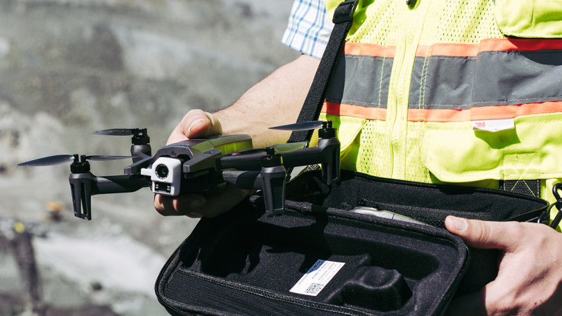 parrot, parrot drones, parrot anafi, parrot anafi thermal, anafi thermal, drones, drone, uas, uav, suas, thermal drone, thermal camera, flir camera, commercial drone, drone inspection, drone surveying