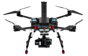 inspired flight, if750a quadcopter, commercial quadcopter, commercial drone, drones, drone, uas, uav, suas