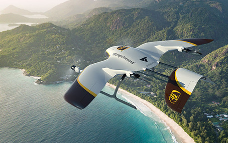 UPS to develop new delivery drones with Wingcopter - top speed 150mph