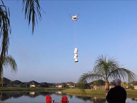Google Alphabet's drone delivery is dropping off Toilet Paper - so is this Florida Man