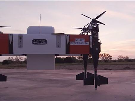 Bell's autonomous APT 70 cargo drone can haul up to 70 pounds