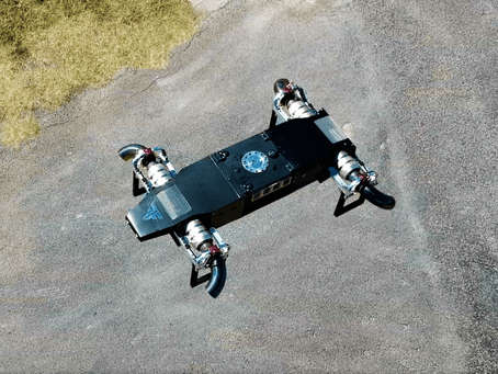 Jet-powered VTOL drone is like a quadcopter on steroids