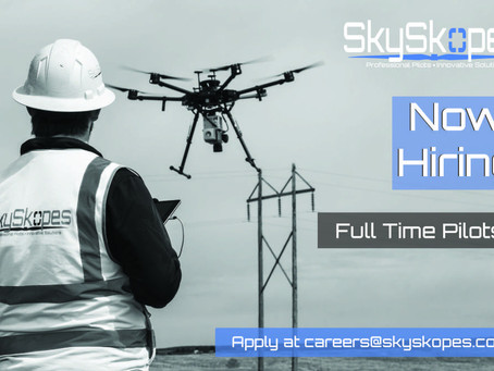 SkySkopes Inc. is Hiring Full Time sUAS Pilots