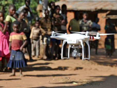 First drone and data academy opens in Africa to improve service delivery for children