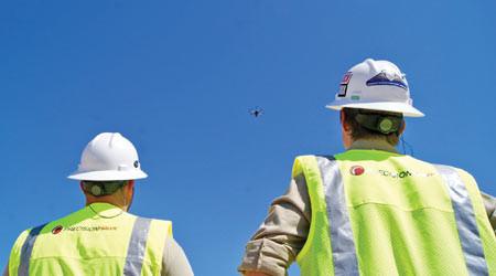 drones, drone, uav, uas, suas, drone technology, technology, commercial drone, drone inspection, drone surveying, railroads, bridges, progressive railroading