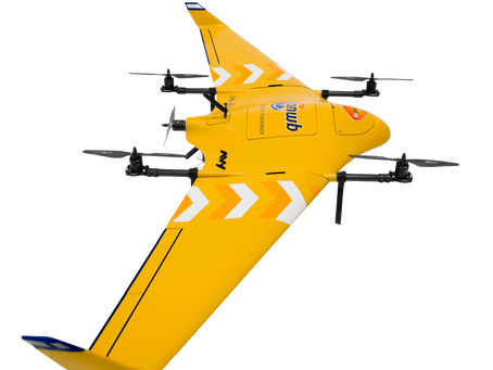A vertical takeoff drone for life saving missions