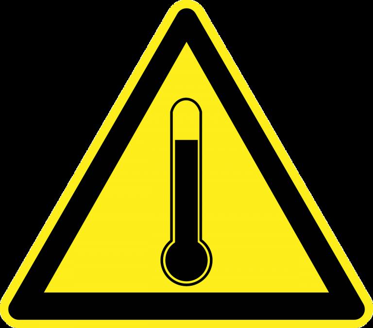 temperature warning, drones, drone, uas, uav