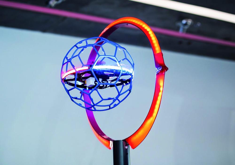 graupner, graupner droneball sweeper, droneball, drones, drone, uas, uav, suas, rotordrone magazine