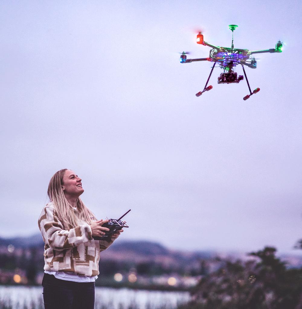 drones, drone, uas, uav, commercial drone, commercial drones, inspired flight, interdrone