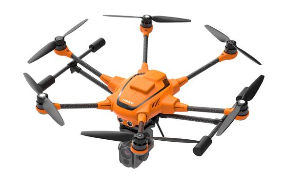 yuneec, yuneec h520, commercial drone, drones, drone, uas, uav, rtk satellite navigation, drone life