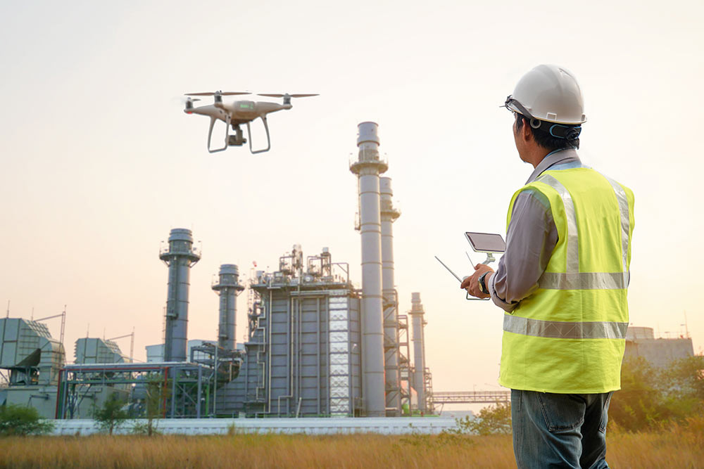 drones, drone, uas, uav, suas, commercial drone, oil and gas industry, oil and gas, drone inspection
