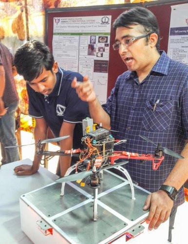 drone technology, drones, drone, uas, uav, suas, drone recharging, wireless charging, india