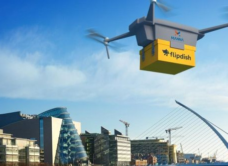 Manna raises $5.2m, plans to start delivering by drone early 2020 in Ireland