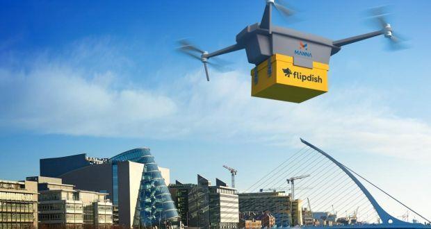 manna, ireland, drone delivery, drones, drone, uas, uav, suas, drone technology, drone tech