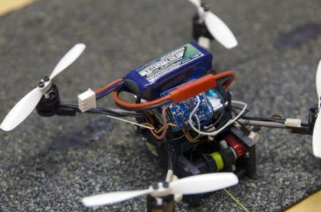Tiny Quads Can Move 40X Their Weight - Stanford