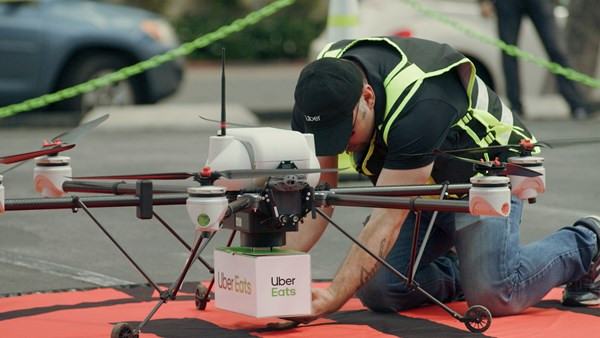 uber, uber eats, uber drones, uber drone delivery, drones, drone, uas, uav, suas, drone delivery, commercial drone