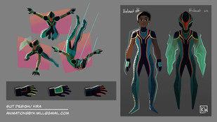 Mantis suit