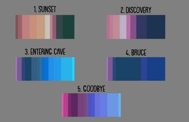 Color Blocks for scenes