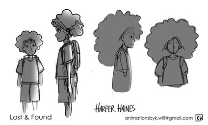 Harper Character concepts