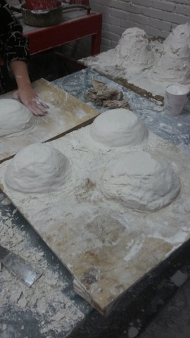 Plaster molds