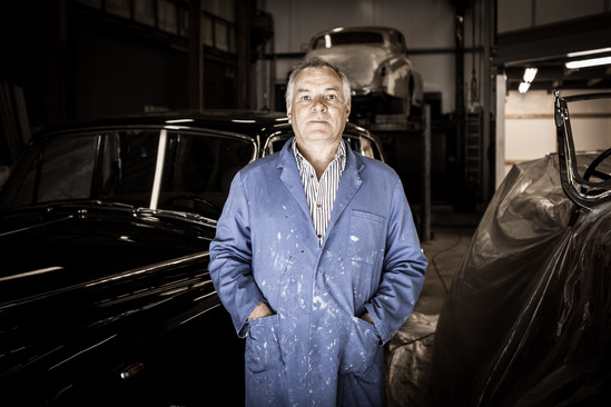 John Smith - Roll Royce Restorer, Wren R