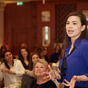 The HeForShe UN Women National Committee UK Film Series Creative Breakfast