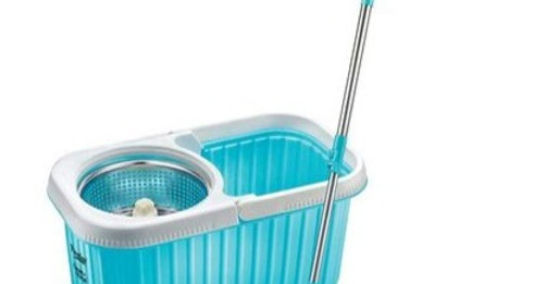 Cleaning Plastic Bucket Mop