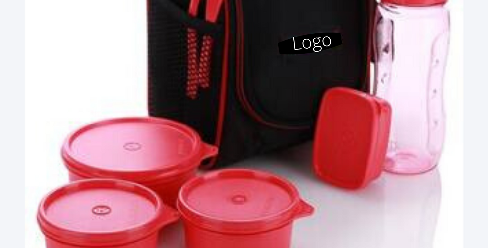 Tiffin Box with Logo printed for Corporate