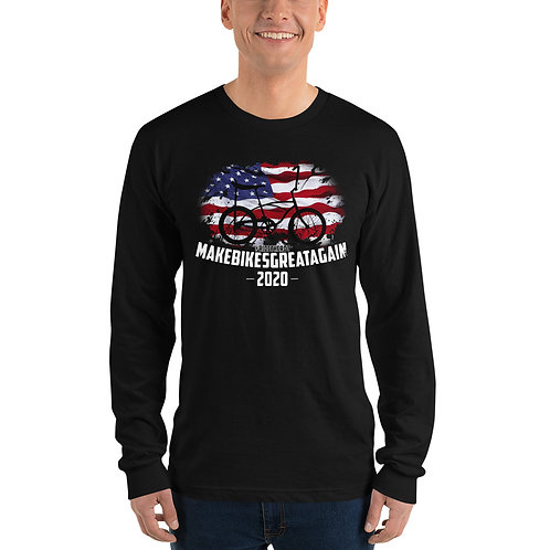 Long sleeve t-shirt - MAKE BIKES GREAT AGAIN - Sting-Ray Silhouette