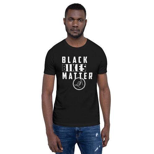 Short-Sleeve Unisex T-Shirt - BLACK BIKES MATTER