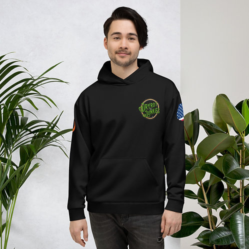 Gender Neutral Hoodie - Logo/Irish/USA