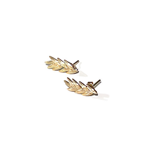 Wheat Gold Plated Ring