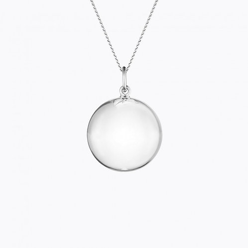 HARMONY MATERNITY NECKLACE SILVER PLATED