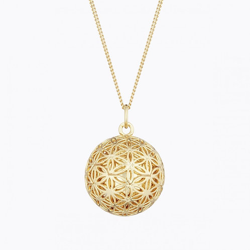 FLOWER OF LIFE PREGNANCY NECKLACE