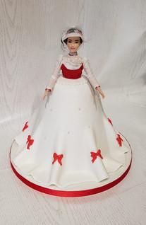 Mary Poppins Doll Cake